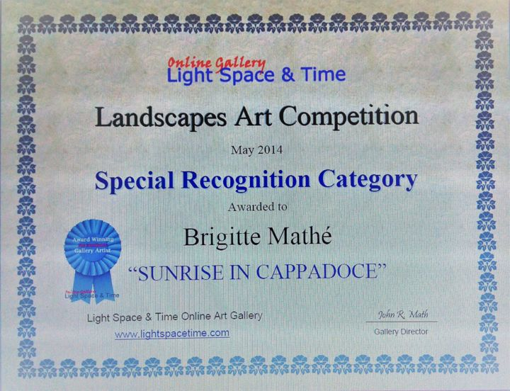 Brigitte Mathé - Landscapes Art Competition Special Recognition