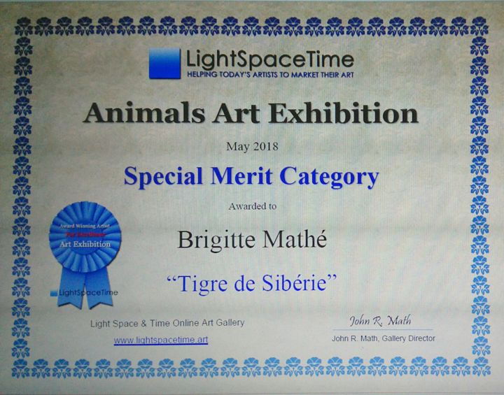 MBL - Animals Art Competition Special Merit