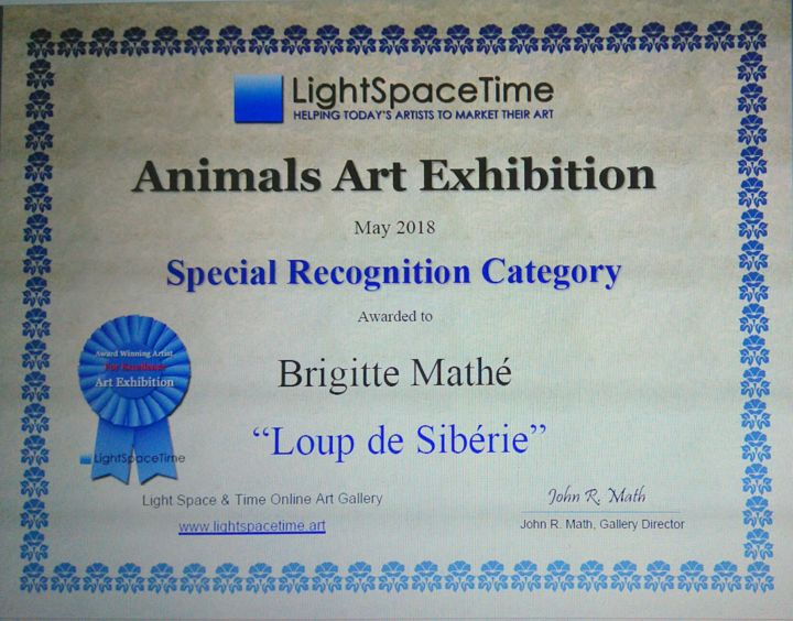MBL - Animals Art Competition Special recognition